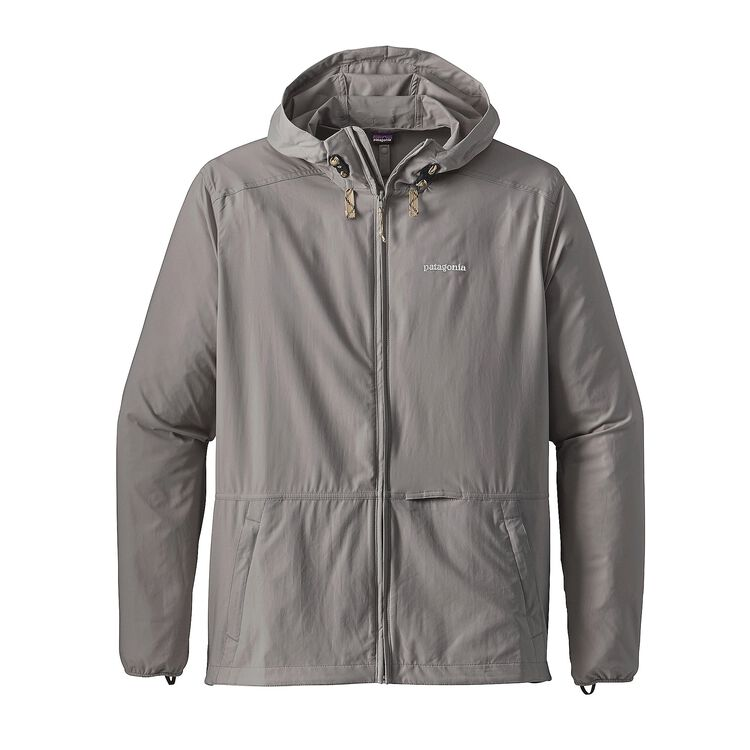M'S STRETCH TERRE PLANING HOODY, Feather Grey (FEA)