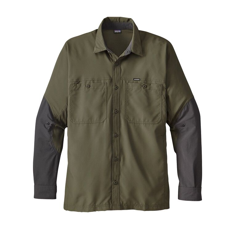 M'S LIGHTWEIGHT FIELD SHIRT, Industrial Green (INDG)