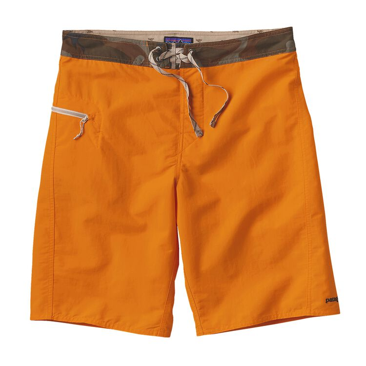 M'S SOLID WAVEFARER BOARD SHORTS - 21 IN, Sporty Orange (SPTO)