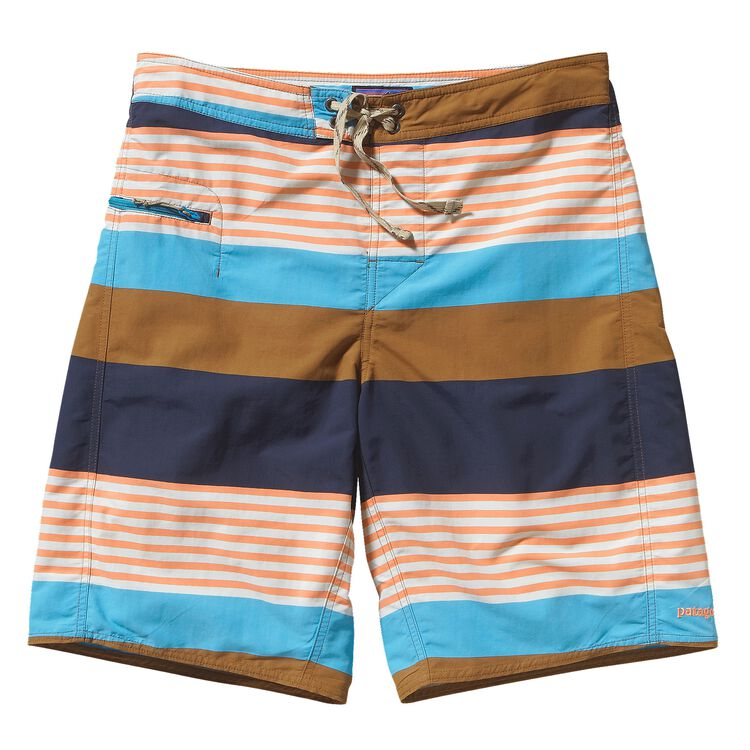 M'S WAVEFARER ENGINEERED BOARD SHORTS -, Fitz Stripe: Bear Brown (FTBR)