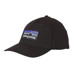 P-6 LOGO STRETCH FIT HAT, Black (BLK)