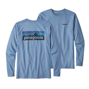 M's Long-Sleeved P-6 Logo Responsibili-Tee®, Railroad Blue (RBE)
