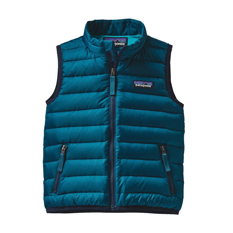 BABY DOWN SWEATER VEST, Deep Sea Blue (DSE)