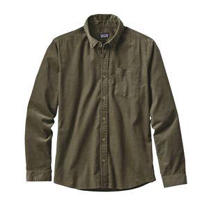 メンズ・ロングスリーブ・ブラフサイド・コード・シャツ, Industrial Green (INDG)