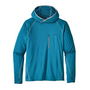 M's Sunshade Technical Hoody, Filter Blue (FLTB)