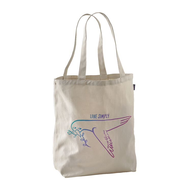CANVAS BAG, Live Simply Dove: Bleached Stone (LSDS)