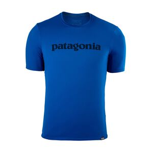 M's Capilene® Daily Graphic T-Shirt, Text Logo: Viking Blue (TXVK)