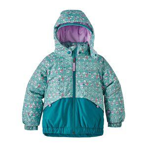 Baby Snow Pile Jacket, Sockeye Scales: Strait Blue (SOSB)