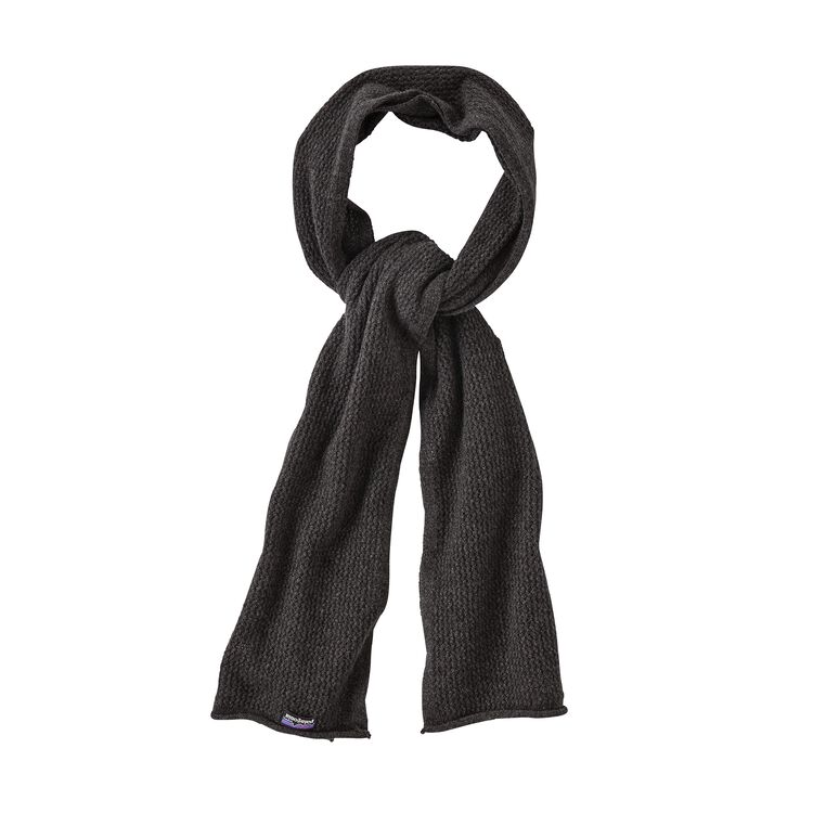 W'S RECYCLED CASHMERE POINTELLE SCARF, Forge Grey (FGE)