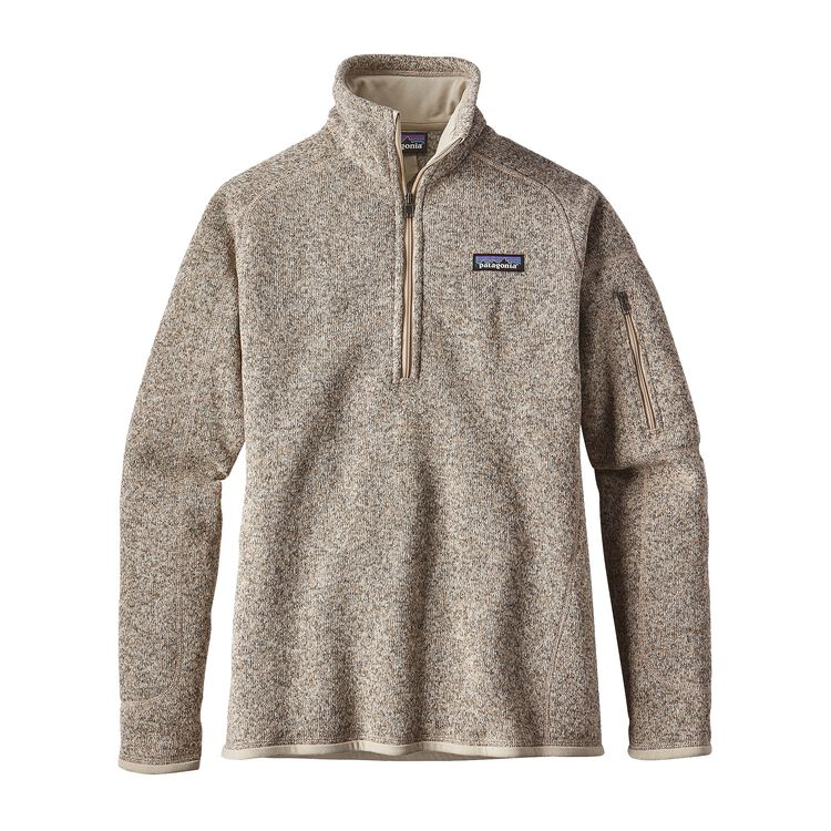 W'S BETTER SWEATER 1/4 ZIP, Pelican (PLCN)