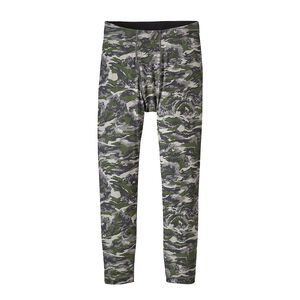 Boys' Capilene® Bottoms, El Nino Camo Small: Feather Grey (ENSF)