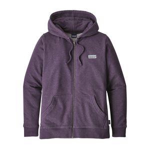 W's Pastel P-6 Label Midweight Full-Zip Hoody, Piton Purple (PTPL)
