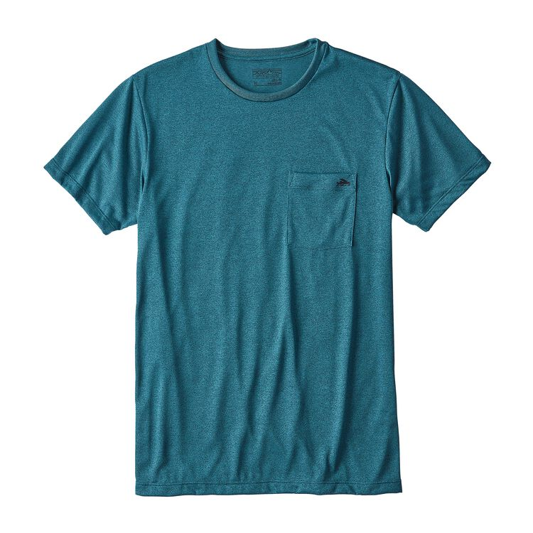 メンズ・フライング・フィッシュ・リサイクル・ポリ・ポケット・レスポンシビリティー, Filter Blue (FLTB)