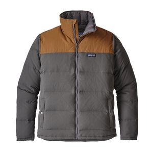M's Bivy Down Jacket, Forge Grey w/Bear Brown (FYBB)