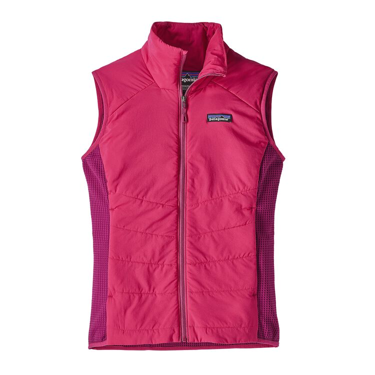 W'S NANO-AIR LIGHT HYBRID VEST, Craft Pink (CFTP)