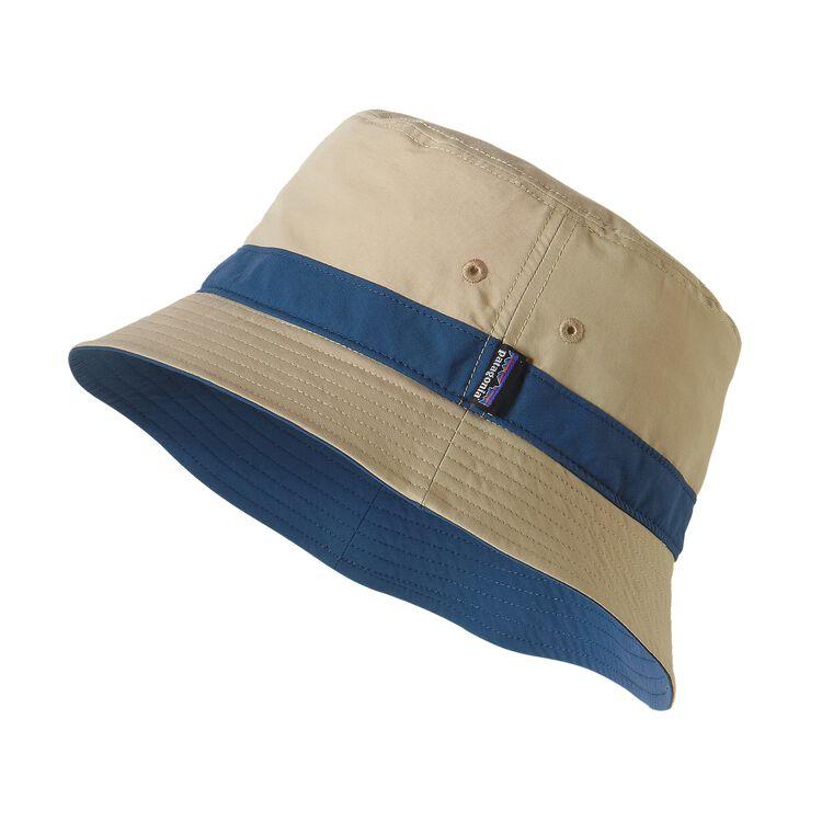 WAVEFARER BUCKET HAT, El Cap Khaki w/Glass Blue (EKGB)
