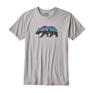 メンズ・フィッツロイ・ベア・コットン/ポリ・Tシャツ, Drifter Grey (DFTG)