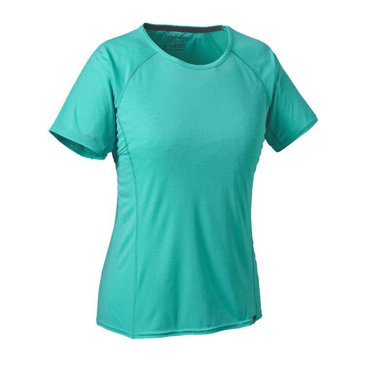 W'S CAP LW T-SHIRT, Howling Turquoise (HWLT)