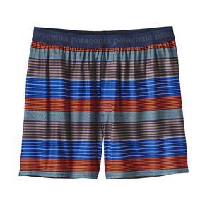 メンズ・キャプリーン・デイリー・ボクサー, Stripe of Stripes Small: Cusco Orange (SSSO)