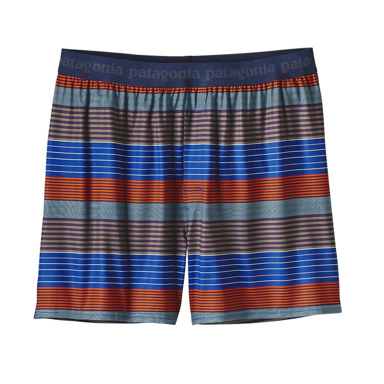 M'S CAP DAILY BOXERS, Stripe of Stripes Small: Cusco Orange (SSSO)