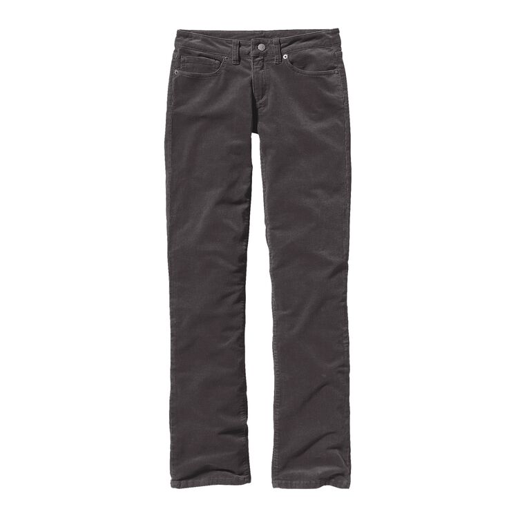 W'S CORDUROY PANTS - SHORT, Forge Grey (FGE)