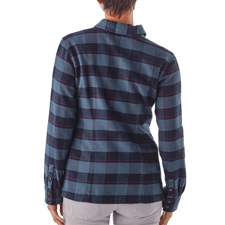 W's Long-Sleeved Fjord Flannel Shirt,