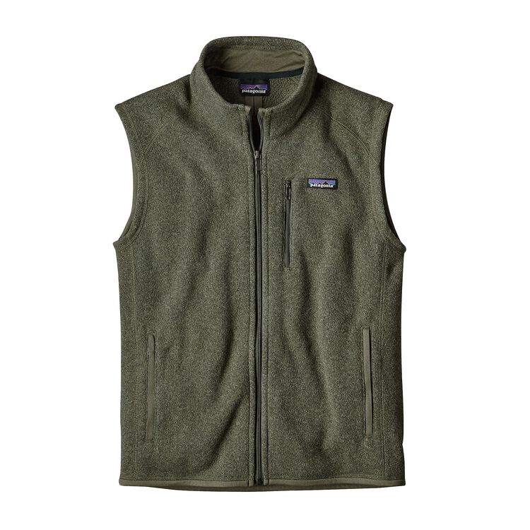 M'S BETTER SWEATER VEST, Industrial Green (INDG)