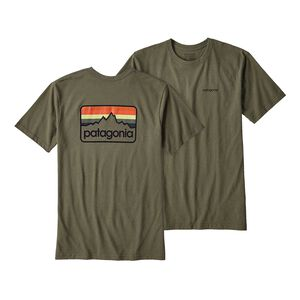 M'S LINE LOGO BADGE COTTON/POLY RESPONSI, Buffalo Green (BUFG)