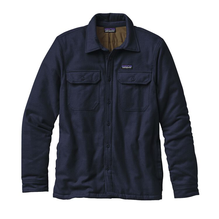 M'S INSULATED FJORD FLANNEL JKT, Navy Blue (NVYB)