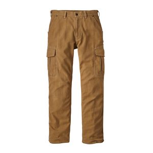 M'S IRON FORGE HEMP CANVAS CARGO PANTS -, Coriander Brown (COI)