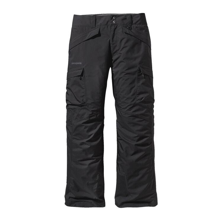 M'S SNOWSHOT FREERIDE PANTS - REG, Black (BLK)