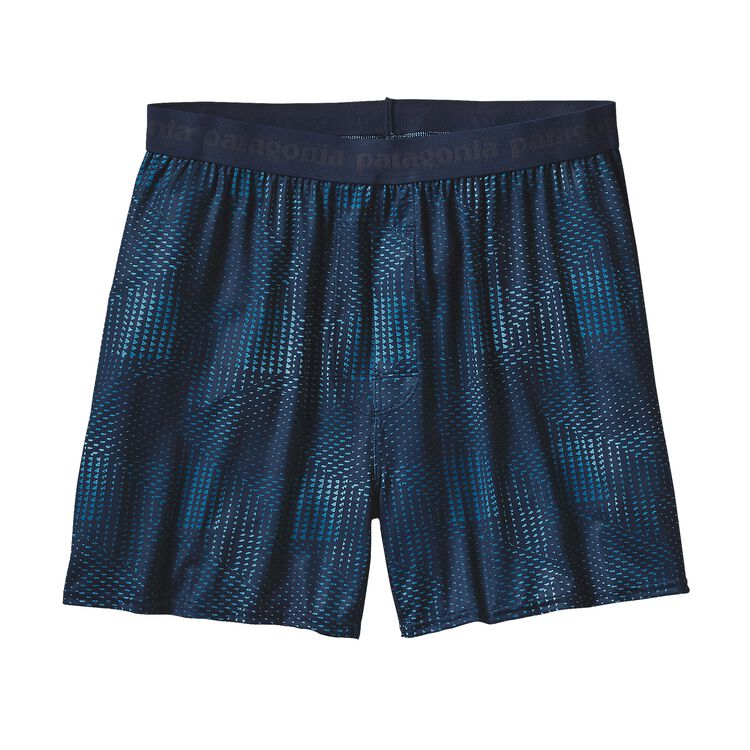 M'S CAP DAILY BOXERS, Shadow Pop Chop: Navy Blue (SDNY)