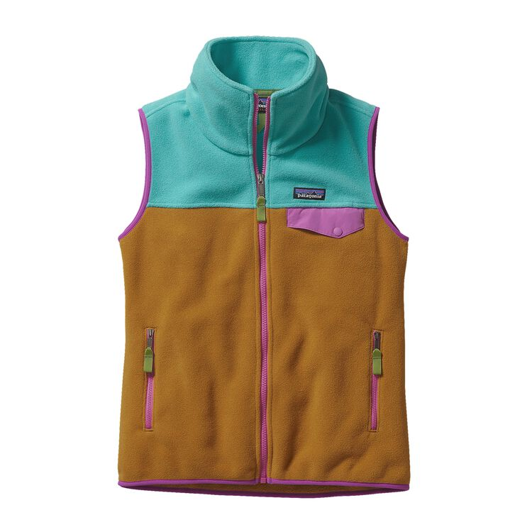 W'S SNAP-T VEST, Howling Turquoise (HWLT)