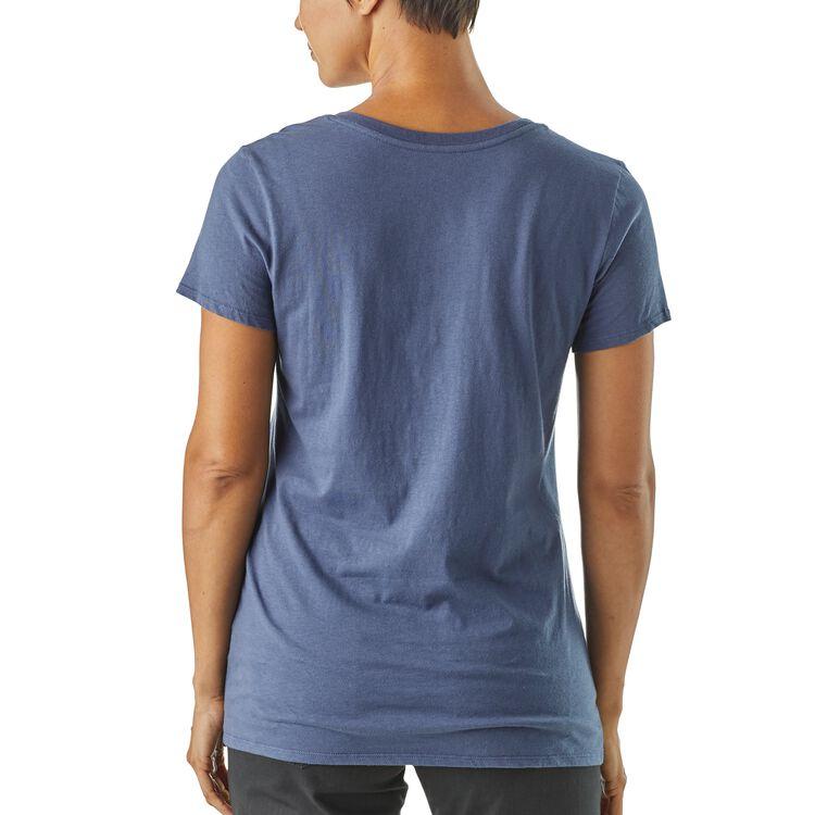 W's Harvest Haul Organic V-Neck T-Shirt,