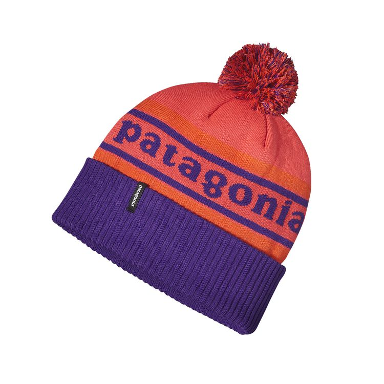 POWDER TOWN BEANIE, Park Stripe: Sumac Red (PKSM)