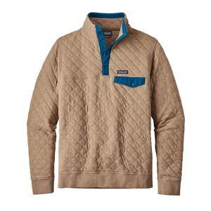 M's Cotton Quilt Snap-T® Pullover, Mojave Khaki (MJVK)
