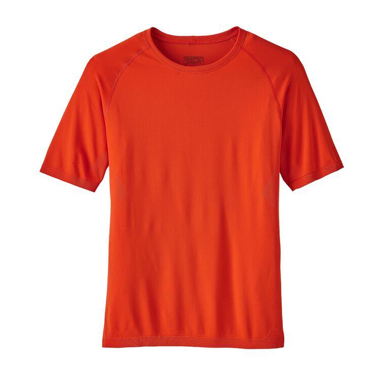 M'S S/S SLOPE RUNNER SHIRT, Paintbrush Red (PBH)