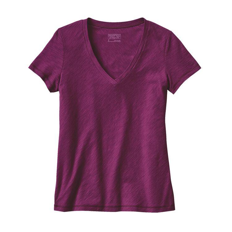 W'S NECESSITY V-NECK, Violet Red (VIO)