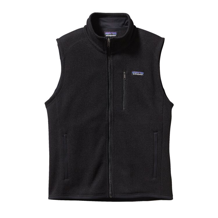M'S BETTER SWEATER VEST, Black (BLK)