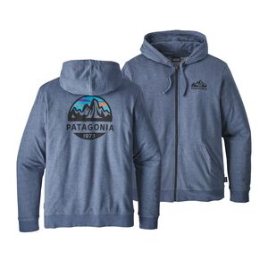 M'S FITZ ROY SCOPE LW FULL-ZIP HOODY, Dolomite Blue (DLMB)