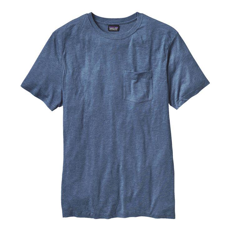 M'S DAILY TRI-BLEND TEE, Glass Blue (GLSB)