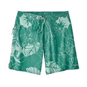 "W's Stretch Planing Boardshorts - 8"", Valley Flora: Beryl Green (VFBG)"