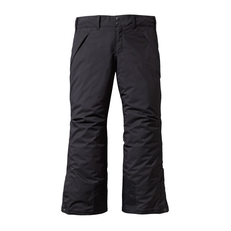 GIRLS' INSULATED SNOWBELLE PANTS, Black (BLK)