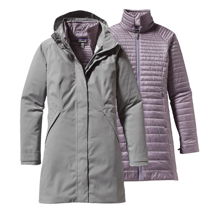 W'S VOSQUE 3-IN-1 PARKA, Feather Grey (FEA)