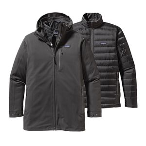 M's Tres 3-in-1 Parka, Forge Grey (FGE)