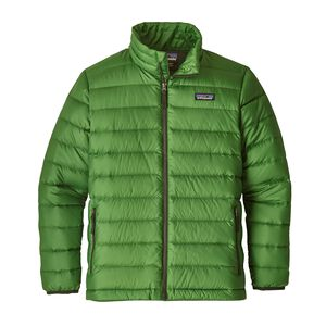 Boys' Down Sweater Jacket, Succulent Green (SUCG)