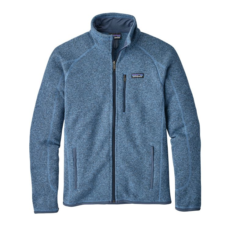 M'S BETTER SWEATER JKT, Railroad Blue (RBE)