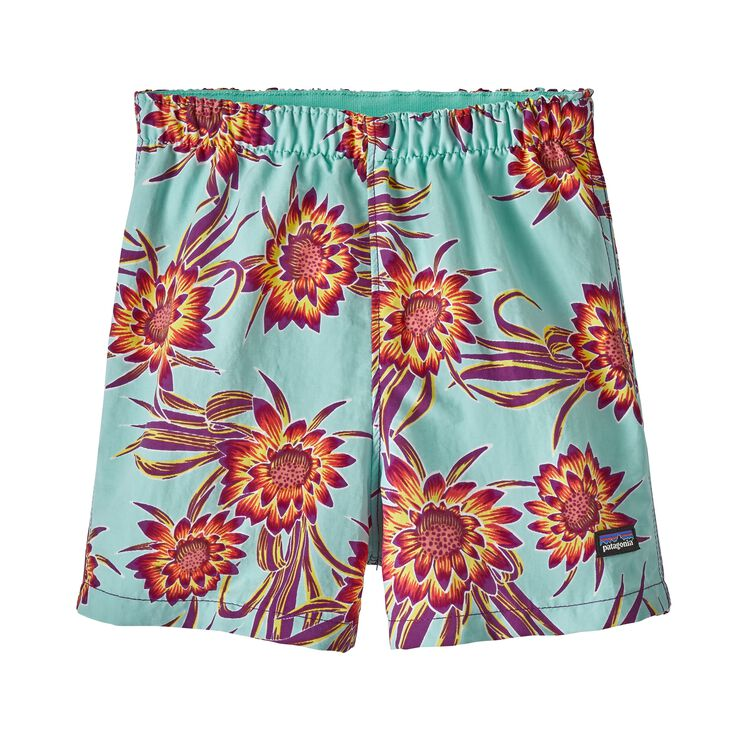 BABY BAGGIES SHORTS, Cereus Flower Small: Ikat Purple (CFSI)