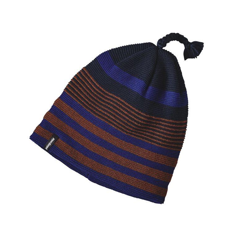 GLADE BEANIE, Spindrift Stripe: Navy Blue (SSNA)