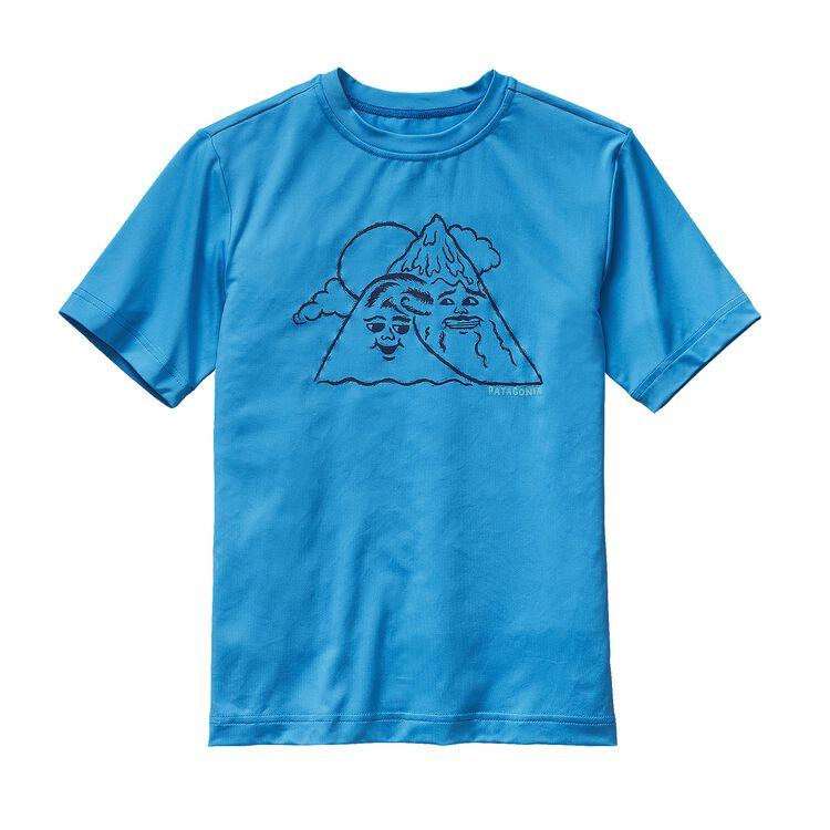 BOYS' CAP DAILY GRAPHIC TEE, Electron Blue (ECTB)